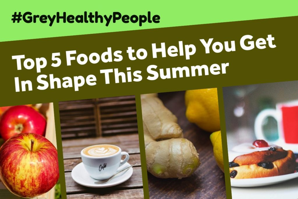 top foods to help you get in shape