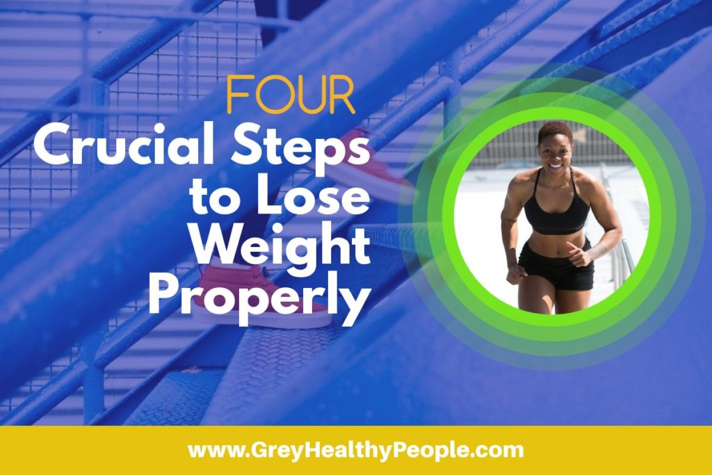 steps lose weight properly