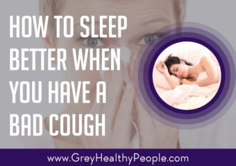 How to Sleep Better When You Have a Bad Cough