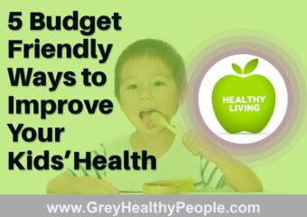 budget friendly ways to improve kids health