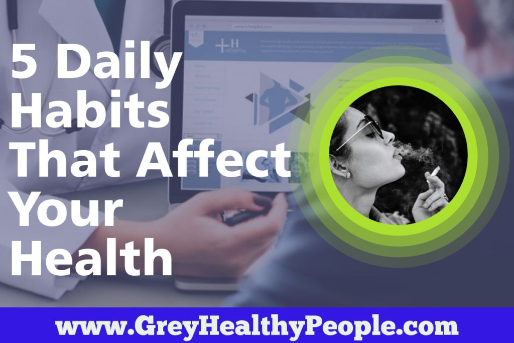 bad habits effects on health