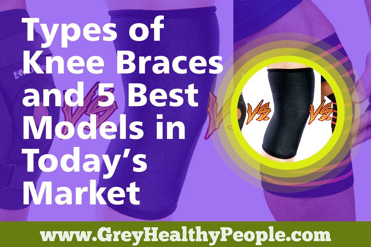 types of knee braces