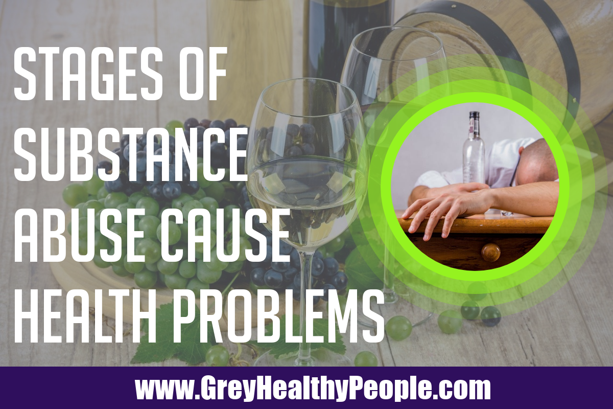 three stages of substance abuse cause health problems