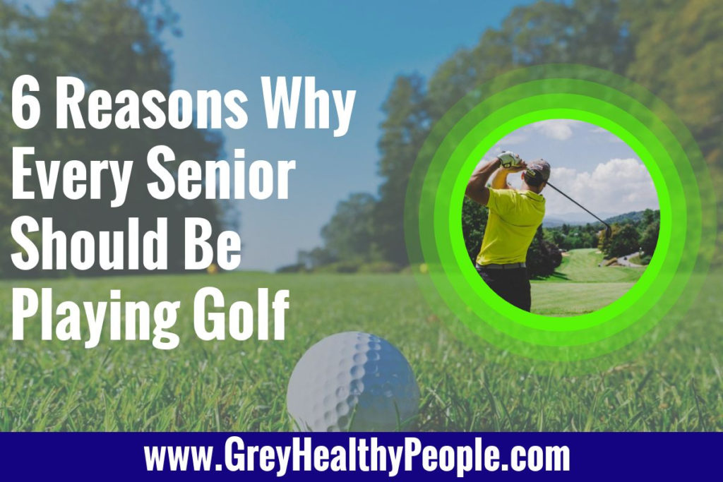 senior should play golf