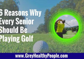 senior should play golf