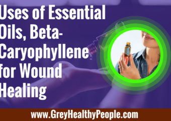 essential oils beta caryophyllene and wound healing