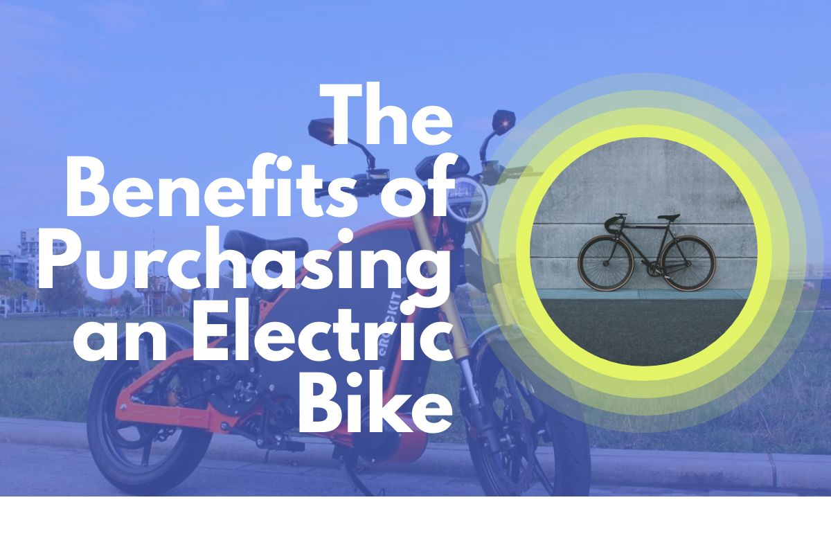 Benefits of electric bikes for adults, men and women use it for exercise and fitness